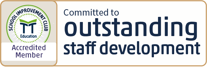 TT Education School Improvement Club Accredited Member - Committed to outstanding staff development
